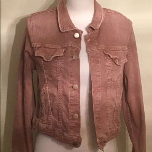 M2f Brand Demins for Free People  Jean jacket